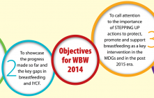 """Breastfeeding: A Winning Goal – For Life"""