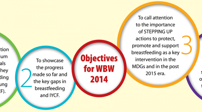 """Breastfeeding: A Winning Goal – For Life"""